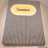 Stammbuchhülle mal anders #stammbuch #5