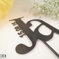 Ein Caketopper für die perfekte Hochzeitstorte #15 #caketopper #hochzeitsorte  oder: on top of the hochzeitstorte