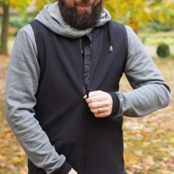 Outdoor Weste aus Softshell